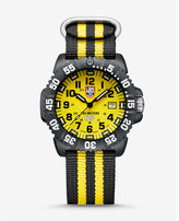 Express luminox yellow watch gift set with compass