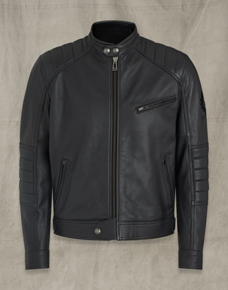 Belstaff RISER LEATHER JACKET Black