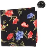 Original Penguin Leandro Floral Pocket Square & Lapel Pin Set