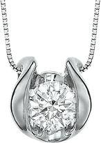 Sirena CT. Diamond Solitaire Pendant Necklace