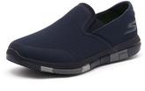 Skechers Go Flex Navy/Grey
