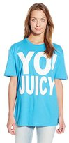 Juicy Couture Black Label Women's Yo Juicy Short Sleeve Tee