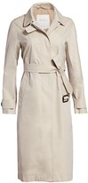 Max Mara Treated Cotton Trench Coat