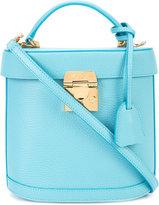 Mark Cross box crossbody bag - women - Leather - One Size