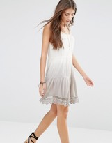 Pull&Bear Tie Dye Laced Dress
