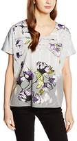 Great Plains Women's Trellis Garden Top Regular Fit Short Sleeve Blouse,Large