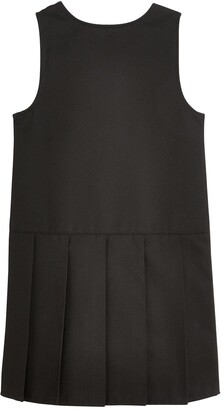 Very Girls 2 Pack Pleat School Pinafore - Black