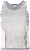 Chanel Pre Owned scoop neck tank top