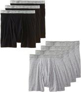 Fruit of the Loom Men's 7Pack Stripes Solids Boxer Briefs Cotton Underwear L