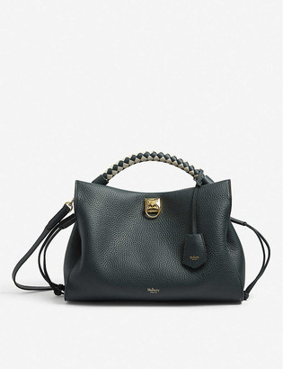 Mulberry Iris leather top handle bag
