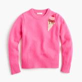 J.Crew Girls' sequin ice cream sweater