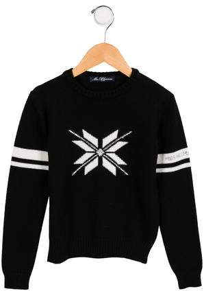 Miss Blumarine Girls' Wool-Blend Sweater