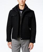 MICHAEL Michael Kors Wool-Blend Layered Military Coat