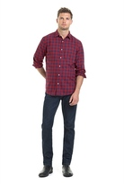 Country Road Bordered Flannel Check Shirt
