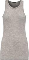 James Perse Ribbed cashmere tank