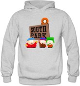CHRIST South Park Banner Women's Long Sleeve T Shirts US Size L