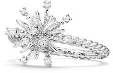 David Yurman Supernova Ring with Diamonds in 18K White Gold