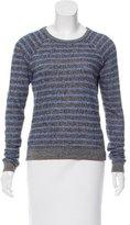 Alexander Wang Striped Crew Neck Sweater