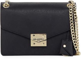 Karl Lagerfeld Paris Corrine Saffiano Leather Shoulder Bag