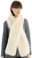 Sole Society Long Faux Fur Stole