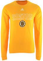adidas Men's Boston Bruins Frontline Long Sleeve T-Shirt