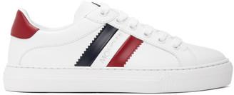 Moncler White Ariel Sneakers