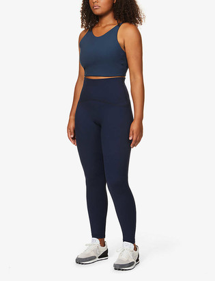 Spanx Active Booty Boost high-rise stretch-jersey leggings
