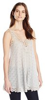 Johnny Was Women's Flowing Lacy Cami