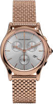 Emporio Armani Unisex Swiss Chronograph Rose Gold Ion-Plated Stainless Steel Bracelet Watch 36mm ARS6009