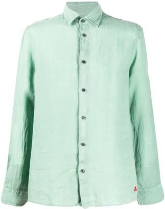 Peuterey Buttoned Linen Shirt