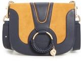 See by Chloe Hana Small Leather Crossbody Bag - Purple