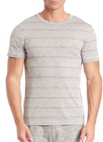 Theory Gaskell Striped Tee