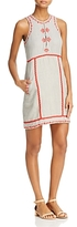 Ella Moss Embroidered Sleeveless Dress