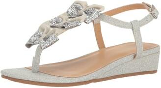 Badgley Mischka Girls' Talia Bow Dress Sandal