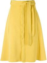 Egrey - A-line skirt - women - Polyester/Spandex/Elastane/Viscose - 38