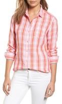 Tommy Bahama Women's Athena Plaid Linen Shirt