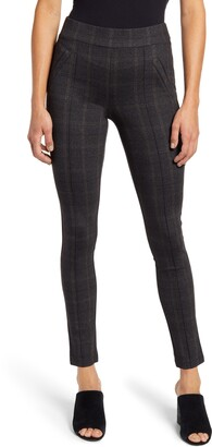 Wit & Wisdom Plaid Ankle Leggings