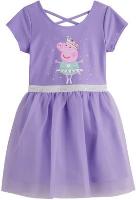 Peppa Pig Toddler Girl Tulle Dress