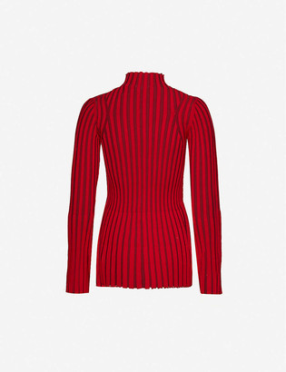 Kenzo Ribbed knitted jumper