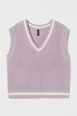 H&M Ribbed sweater vest