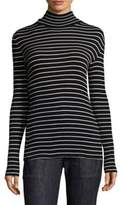 Derek Lam Striped Turtleneck Sweater