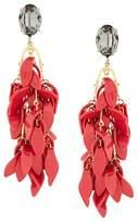 Marni petal clip-on earrings