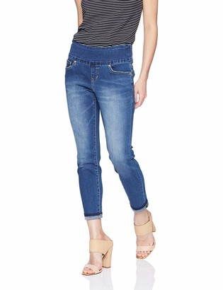 Jag Jeans Women's Petite Amelia Slim Ankle Pull on Jean