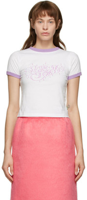 Marc Jacobs White Bubble Logo T-Shirt