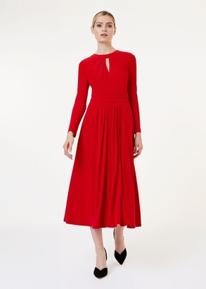 Hobbs Suri Jersey Fit And Flare Dress