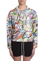 Jeremy Scott Hooded Sweatshirt With Zip