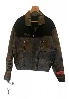 Heron Preston Grey Cotton Jackets