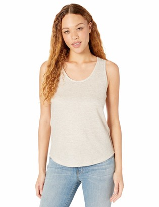 Majestic Filatures Women's Metallic Double-Face Scoop Tank