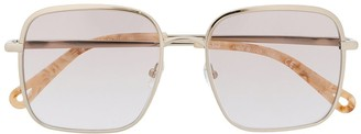 Chloé Rosie square-frame sunglasses