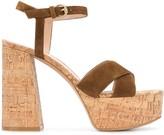 Gianvito Rossi platform cork sandals